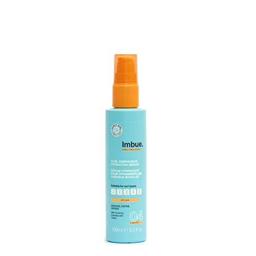 Imbue Curl Energising Hydration Serum, feuchtigkeitsspendendes Serum für Locken - Vegan und 'Curly Girl'-Methode freundlich, 100 g
