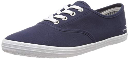 TOM TAILOR Damen 6992401 Sneaker, Blau (Navy 00003), 38 EU