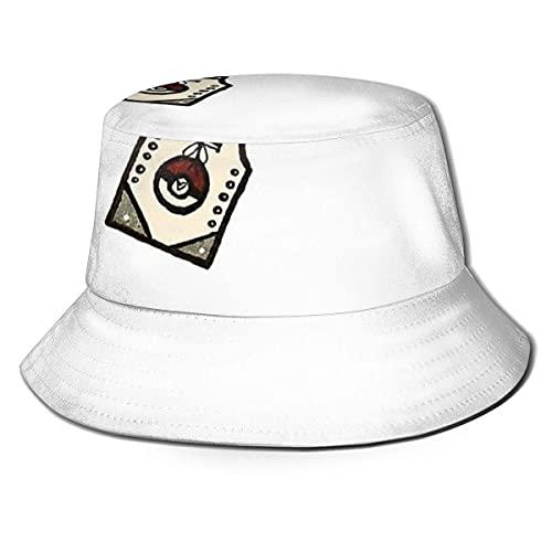 XCNGG Taza de Viaje DD Unisex Summer Sun Bucket Hat Gorra de Playa