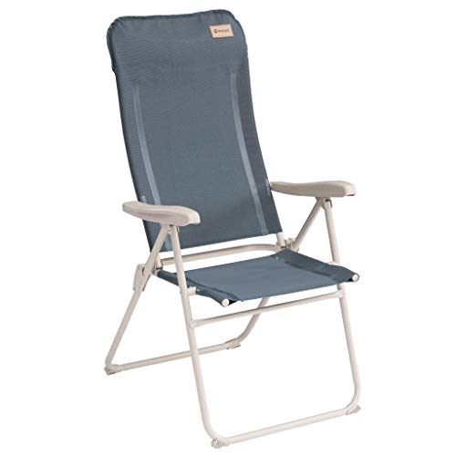 Outwell Cromer - Silla plegable para acampada, color azul océano