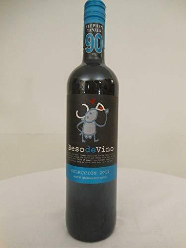 carinena beso de vino rouge 2011 - saragosse espagne: une bouteille de vin.