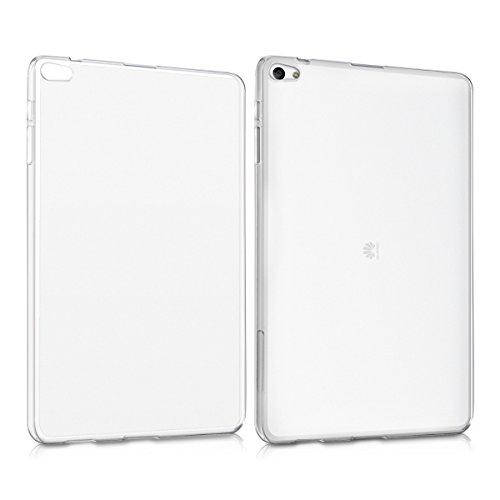 kwmobile Huawei MediaPad T2 10.0 Pro Hülle - Silikon Tablet Cover Case Schutzhülle für Huawei MediaPad T2 10.0 Pro - Matt Transparent