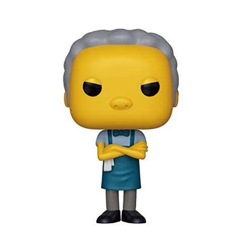 Funko- Pop: The Simpsons: Moe, Multicolore, 33882