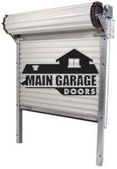 Roll Up Steel Garage Doors Free Shipping Nationwide with Main Garage Doors 1-888-334-4262