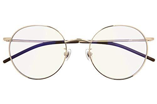 ボストン型 PCメガネ(度なし) Zoff PC ULTRA TYPE(ブルーライトカット率約50%) ゾフ PC 透明レンズ パソコン用メガネ PCめがね PC眼鏡 メンズ レディース おしゃれ【53□21-142】