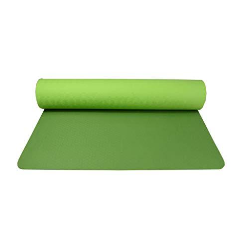 LLKK Yoga Mat,Esterilla Yoga Antideslizante,Tapete de Yoga,tapete Antideslizante Multicolor,tapete de Fitness Suave de Espuma de Nido de Abeja,tapete de Equilibrio de Baile en un Solo Paquete