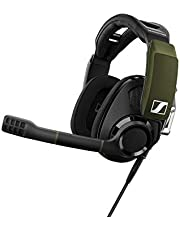 Sennheiser GSP 550 Gaming-koptelefoon (met open akoestijn) SAP One-Size zwart/groen
