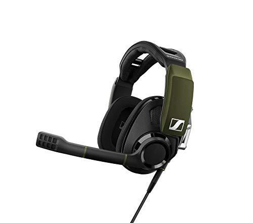 Sennheiser GSP 550 Micro-Casque de Gaming pour PC avec Son Surround 7.1 Noir/Vert