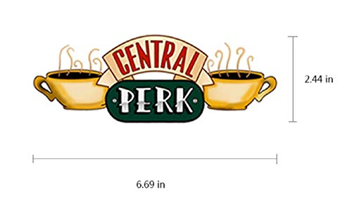 Friends Central Perk Coffee Shop Iron on Heat Transfer Patch