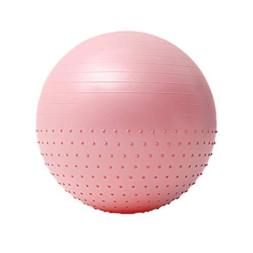 LIUSHI Bola de Ejercicios Bola de Masaje Bola Fisical Ball Ball Ball Ball Ball Ball con Bomba rápida, Balón de Equilibrio Fitness Ball para Oficina en casa y Gimnasio (tamaño : 75cm)