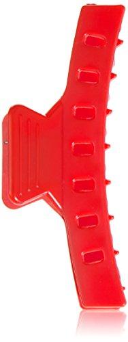 Efalock Professional Wasserwellklammer, 85 mm, rot, 2er Pack, (2x 12 Stück)