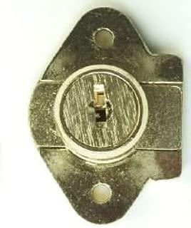 Corbin Cabinet Lock (CCL) 02067-US4-KA Deadbolt Drawer Lock, 7/8