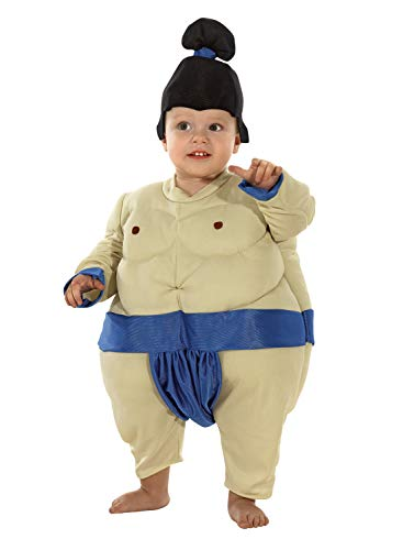 chiber Disfraces Disfraz Luchador Sumo para Bebe (6-12 Meses)