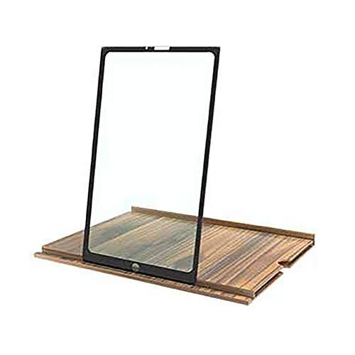 12 Zoll Handy Bildschirm Lupe High Definition 3D Augenschutz Handy Halter Lupe (Kaffee;) BCVBFGCXVB