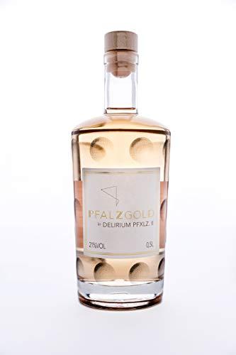 PFALZGOLD by DELIRIUM PFXLZ. II ® (500 ml) - Premium Gin Likör basierend auf handverlesener Trauben - Perfektes Geschenk