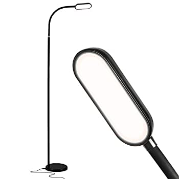 Brightech Battery Plus - Rechargeable Reading Floor Lamp Portable Bright Task Standing Light for Living Room Bedroom Office