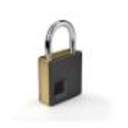 Vingerafdruk Smart Lock Waterdicht/Vingerafdruk Ontgrendelen Anti-diefstal Hangslot Deurslot Bagage Golf Bag, Bagage, Gym Locker, Locker, Ladekast, enz. Goud