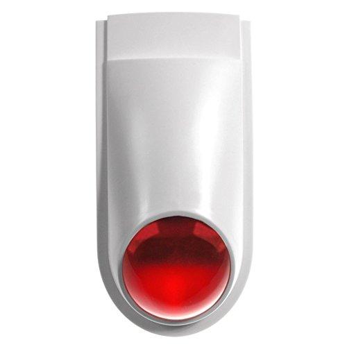 Maclean AL2030 Alarm Sirenen Attrappe Dummy mit Blinkender LED