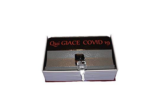 Caja fuerte en forma de libro, Mitella Sii Felice, color negro