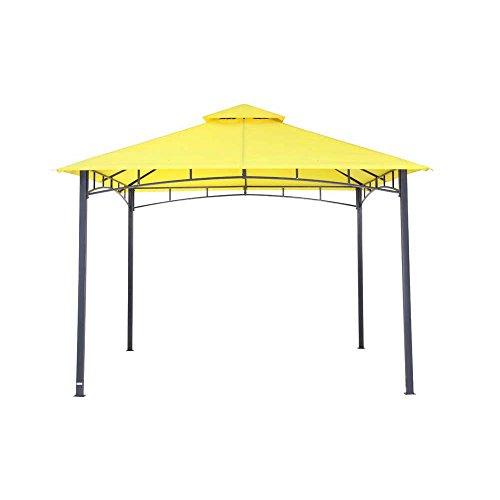 tepro Pavillon gelb WAYA 330x330x290 cm Garten Camping Terrasse 5529
