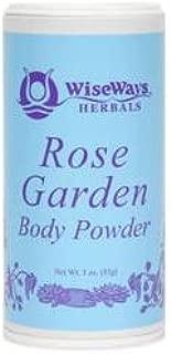 WiseWays Herbals LLC Rose Garden Body Powder 3 oz 85 g