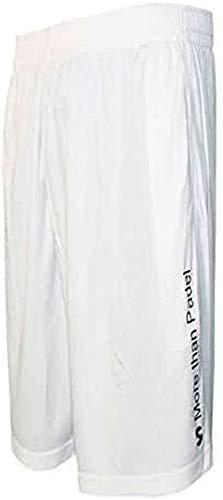 Softee–Pantalon Padel Club, Uomo, Bianco, XXL