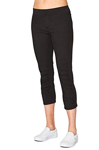 XCVI Wearables Women's Jetter Crop Leggings - Black, Medium - Stylish Cropped Pants