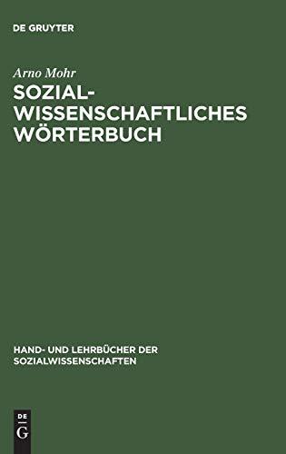 Sozialwissenschaftliches Wörterbuch: Englisch–Deutsch, Deutsch–Englisch (Hand- und Lehrbücher der Sozialwissenschaften)