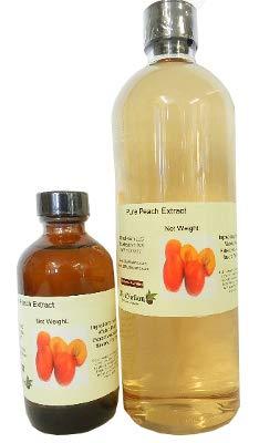 OliveNation Premium Peach Extract, Sugar Free Fruit Flavoring, Natural Flavor, Non-GMO, Gluten Free, Kosher, Vegan - 2 ounces