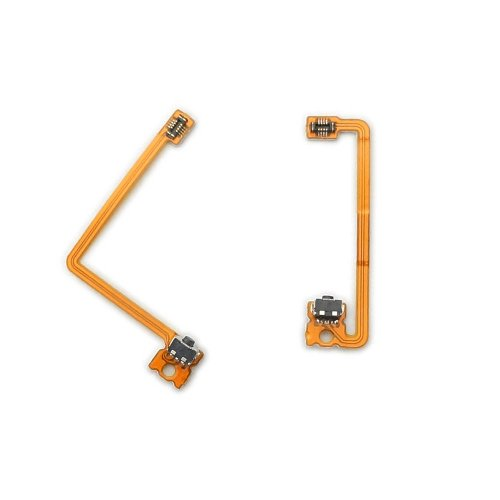 ValueDeluxe Nintendo 3DS XL L R Internal Shoulder Trigger Buttons with Cable Set [Replacement] [fix] [Repair][Bulk Packaging] [Video Game]