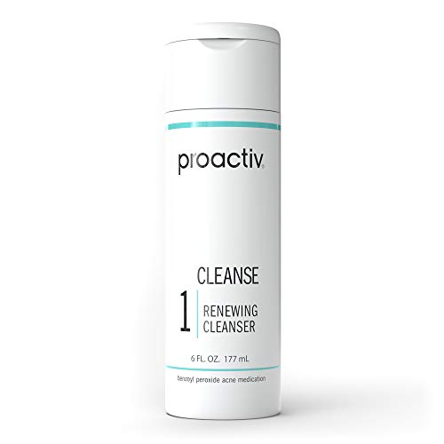 Proactiv Acne Cleanser - Benzoyl Peroxide Face Wash And Acne Treatment - Daily Facial Cleanser And Hyularonic Acid Moisturizer With Exfoliating Beads - 90 Day Supply, 6 oz.