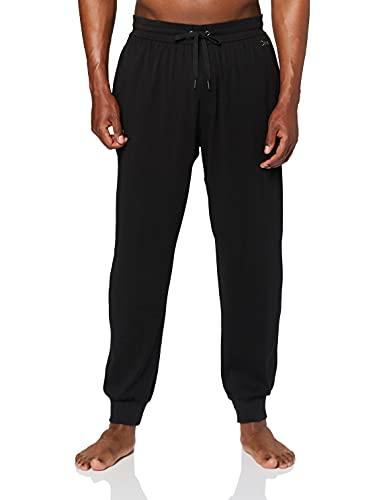 Calvin Klein Jogger Pantaloni Pigiama, Nero (Black 001), Large Uomo