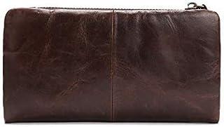 牛革オイルワックススキンマルチカードFarseeing財布ビジネスファッションのトレンドメンズ大容量の財布ザ・ショータイム・レイヤー(カラー,コーヒー、サイズ,S),コーヒー,小さい