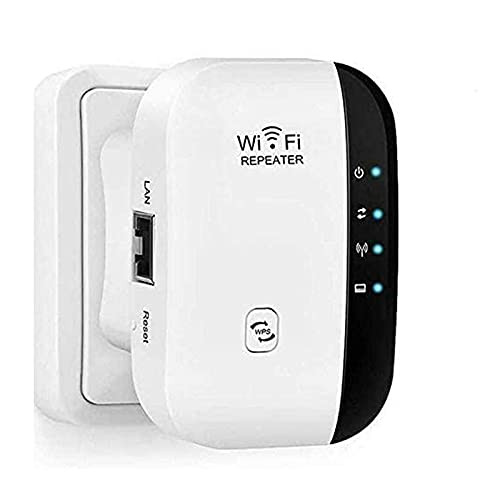 Super WiFi Extender Range Booster - 300Mbps Wireless Router Signal Booster...
