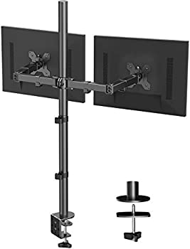 Huanuo Dual Monitor Stand with Extra Tall Pole