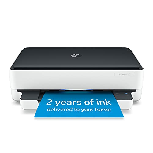 HP ENVY 6075 Wireless All-in-One Printer, Includes 2 Years of Ink Delivered, Mobile Print, Scan & Copy (8QQ97A)