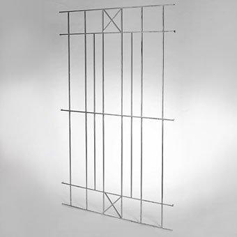 Videx-Rankgitter Nizza, Metall Vierkanteisen, 120 x 177cm