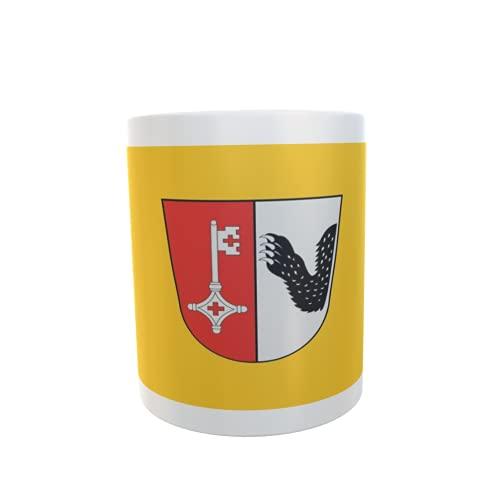 U24 Tasse Kaffeebecher Mug Cup Flagge Achim