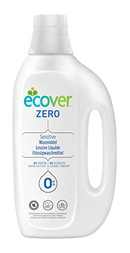 Ecover Zero Flüssigwaschmittel - ohne Duftstoffe, 1,5L (30 Waschladungen)