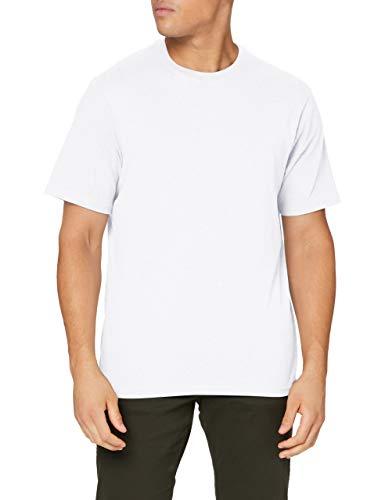 Element Basic - Maglietta A Maniche Corte da Uomo Maglietta A Maniche Corte, Uomo, Optic White, M