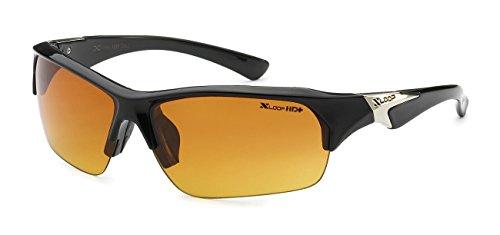 x loop night vision driving glasses 5Zero1 Xloop HD Hot Unisex Half Frame Outdoor Sport Running Sunglasses