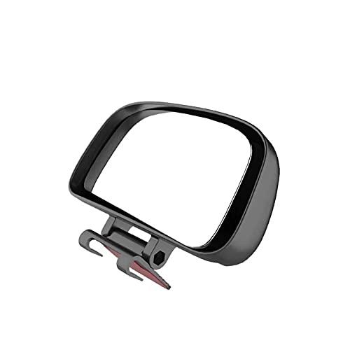 donghaibaihuopu Espejo de Coches Espejos de Gran Angular de Gran Angular Ajustable de 360 Grados Ajuste de la Manera Posterior del Punto a presión para estacionar Auxiliar Vista Trasera Espejo