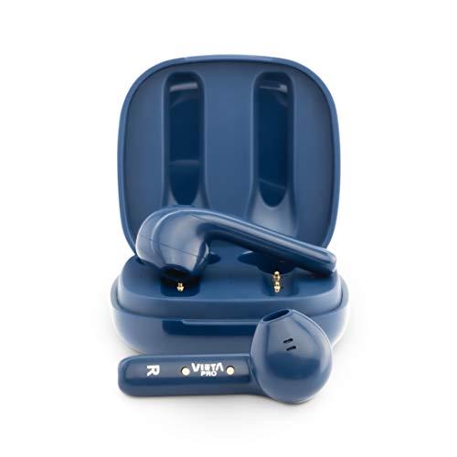 Vieta Pro It Plus - Auriculares inalámbricos (Bluetooth 5.0, True Wireless, Doble micrófono, IPX7 y Sensor óptico) Color Azul