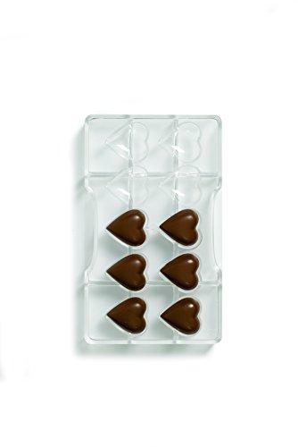 Decora 0050075 Molde Corazones DE Chocolate 32,5X35