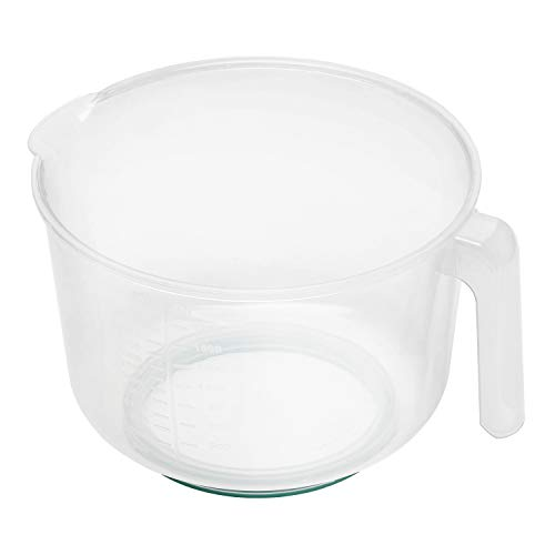 Chef Aid Contain 2.5 Litre Mixing Bowl and Jug, Microwave and Dishwasher Safe, Multi-Purpose, Ideal for baking and cooking