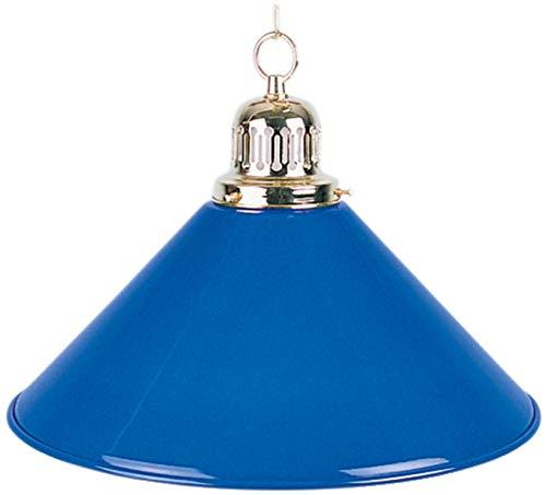 Billard Lampe, blau, Ø35cm