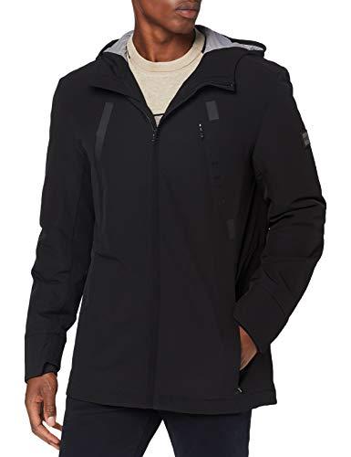 BOSS Mens J_Nava Jacket, Black (1), L
