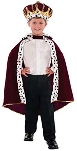 Amscan 841640 Velvet King Robe, Children Standard Size, 1 Piece