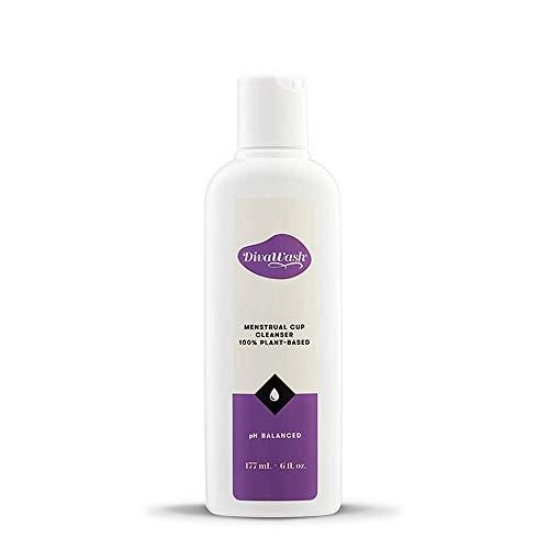 DivaCup DivaWash - Menstrual Cup Wash - Feminine Hygiene - PH Balanced - 6 oz