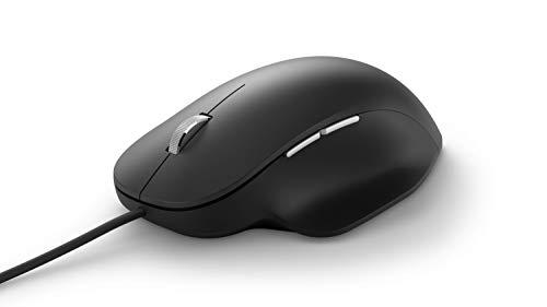 【2020年最新版】マイクロソフトエルゴノミックマウスブラック/有線/USB接続RJG-00008
